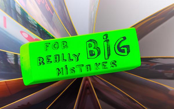The Cosmic Eraser