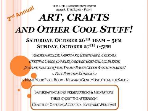 Arts, Crafts and other Cool Stuff @ The Life Enrichment Center